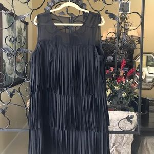 Cocktail dress in black